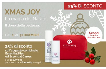 XMAS JOY: Funtastiq Ti Porta In Dono La Bellezza.